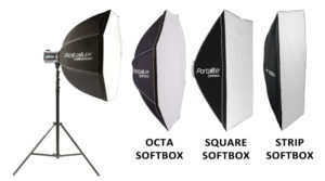 Light Modifiers - Softboxes