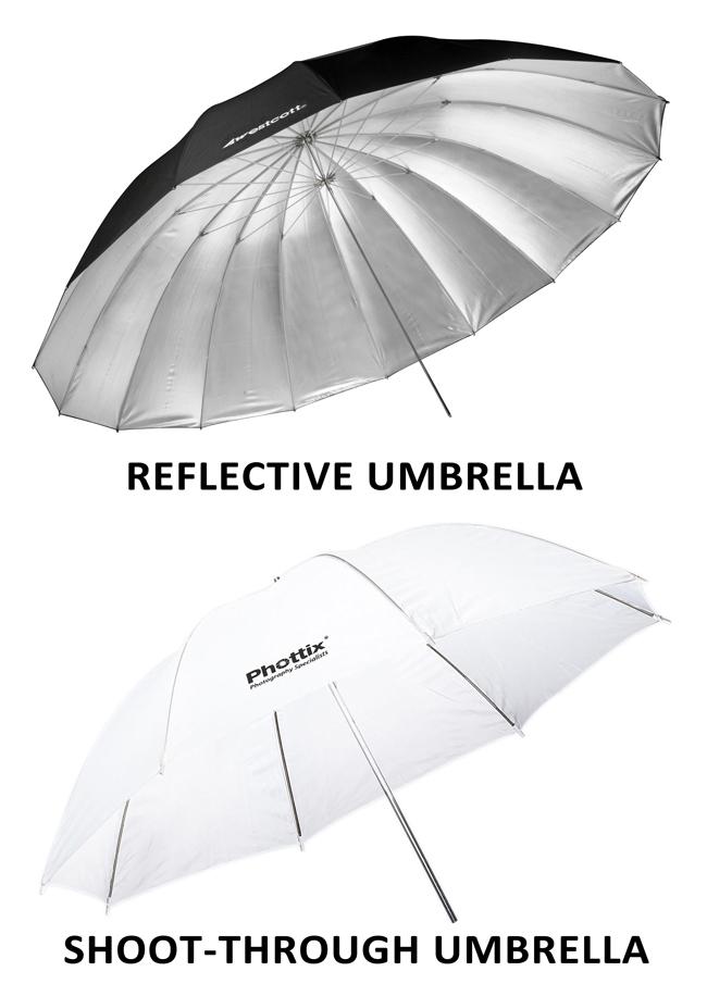 Light Modifiers - Umbrellas